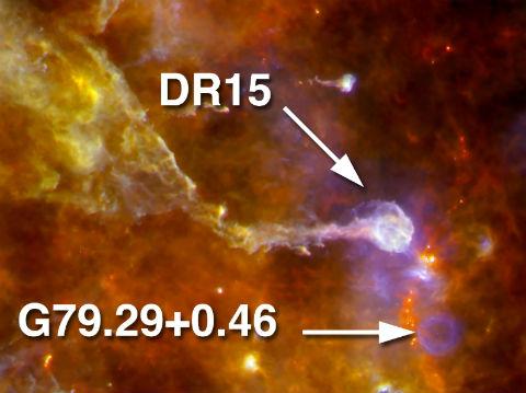 Actus d'astronomie Herschel_CygnusX_07052012_Annotated2crop