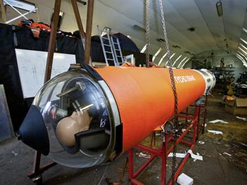 La capsule Tycho Brahé. Crédit : Thomas Pedersen