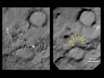 Stardust / Next : revisiter la comète de Deep Impact - Page 2 Tempel1-avant-apres