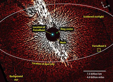 [Topic unique]: Les exoplanètes - Page 11 Fomalhaut_combined_f606_450