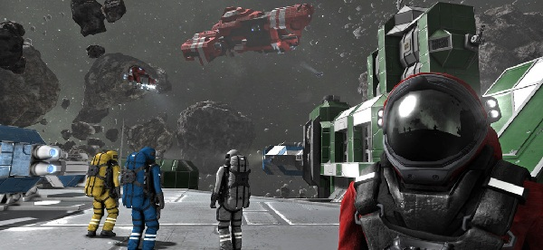 Capture d'écran du jeu Space Engineers. Crédit : Courtesy Keen Software House